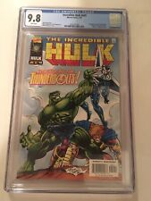 Incredible Hulk #449 CGC 9.8 - 1st appearance of the Thunderbolts! Marvel Zemo