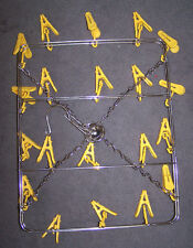 2 Scarf Or Banner Hanger 20 Clip hanging display Rack hat flag tee shirt toys