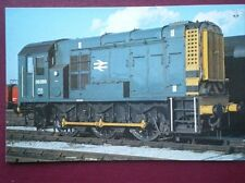 POSTCARD OPC-71 CLASS 08 SHUNTER LOCO NO 08 289  IN 1979 AT DONCASTER WORKS