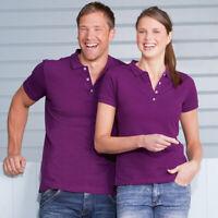 Russell Stretch Polo J566M Fabulous Cut Slim Fit Mens Tshirt Smart Tee Shirt Top