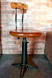 1920's Singer Sewing Chair / Stool Industrial Chic
