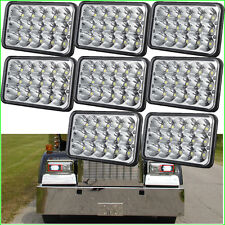8PC 4x6 Sealed Beam LED Headlight HID for Kenworth FREIGHTLINER Peterbilt GMC