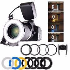 RF550D 48pcs Macro LED Flash ad anello per SONY Nikon Canon Olympus DSLR bu