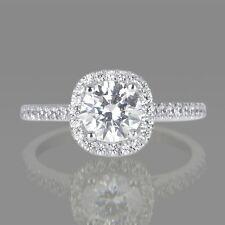 BLACK FRIDAY 2 CT ENHANCED ROUND DIAMOND ENGAGEMENT RING F/SI1 14K WHITE GOLD