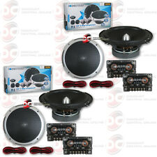 4 x BRAND NEW SOUNDSTREAM 6.5-INCH 2-WAY CAR AUDIO COMPONENT SPEAKER 6-1/2