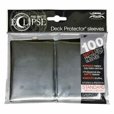 100x Ultra Pro Matte ECLIPSE Deck Protector MTG Card Sleeves Pokemon - BLACK