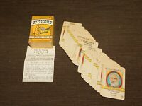 VINTAGE 1935 AUTHORS BY RUSSELL VOL Ii BIG LITTLE CARD GAME MINI PLAYING CARDS