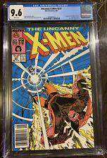 Uncanny X-Men #221 CGC 9.6 Hot Book Newsstand 1st Mister Sinister Marvel Comics