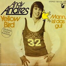 "7"" Andy Andres EX VENTO/VOX & Vox Yellow Bird (versione tedesca) Hansaport ORIG. 1978"