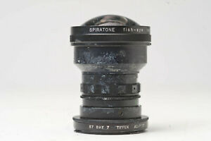 Spiratone Fisheye lens with adpter for Hasselblad FOR PARTS N5676