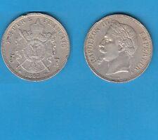 ## Second Empire 5 francs Argent Napoléon III tête laurée 1867 Paris Numéro  2