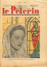 Première First Communion Communiante Catholique Catholic Paris 1938 ILLUSTRATION