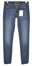Señoras para mujer Levis Skinny Demi Curve Tiro Bajo Jeans Azul Oscuro Talla 8 W26 L32