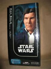 """Star Wars 12"""" 1/6 Sideshow Heroes Rebellion Han Solo Bespin Jacket Figure New"""