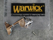 NEW WARWICK TREBLE SIDE TUNER CHROME GUITAR PART THUMB DOLPHIN CORVETTE NT BO
