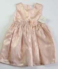 New Carters Light pink flower tulle dress party birthday holiday size 24 months