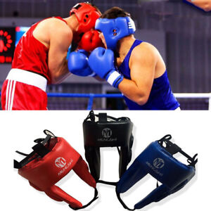 Guard Head Helmet MMA UFC Protector Headgear Fighting Sparring Boxing