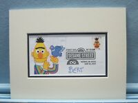Jim Henson's Muppets & Sesame Street & First Day Cover of the Bert stamp