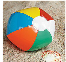 "7"" Inflatable Beach Ball Fits 18"" American Girl  Dolls"