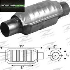 """CATALYTIC CONVERTER 2"""" UNIVERSAL EURO IV, 400 CELL, ROUND LARGE BODY"""