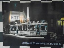 HAND SIGNED JOHN BAEDER EMPIRE DINER POSTER VIRGINIA MUSEUM FINE ARTS TOM WAITS
