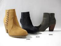 NEW WOMEN'S LADIES HIGH HEEL BLOCK PLATFORM ANKLE LOW CHELSEA BOOTS BOOTIES SIZE