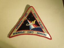 NASA Space Shuttle Mission STS-39 Discovery Embroidered Iron On Patch Large