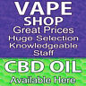 VAPE SHOP CBD OIL GREAT PRICES (CHOOSE YOUR SIZE) PERF WINDOW VINYL DECAL NEW