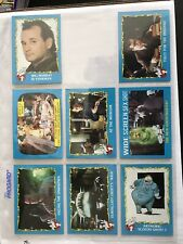 1989 Topps Ghostbusters Ii Trading Cards Lot