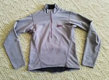 EUC WOMEN'S PATAGONIA 1/2 ZIP PULLOVER SHIRT COLOR PURPLE SIZE SMALL S HIKE RUN