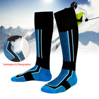1 Pair Adult Knee High Athletic Soccer Socks Cotton Long Sports Football Socks