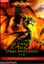 """"""" Die Chronik der Drachenlanze 1 + 2 - Drachenzwielicht / Drachenjager """""""