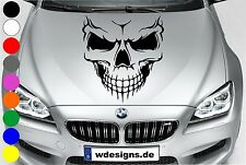 Car decal SKULL SKELETON SKULL Sticker Bonnet Angry Rear window BMW
