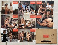 LA BOURGEOISE ET LE PUCEAU de Bob W SANDERS - 8 photos Lobby Cards Erotique