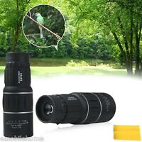 NEW 16x52 Night Vision HD Optical Monocular Hunting Camping Hiking Telescope GA