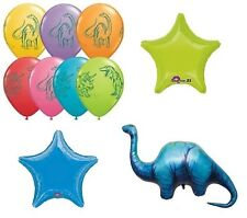 Dinosaur Apatosaurus (10) Birthday Party Mylar & Latex Decoration Balloons Set