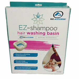 EZ-ACCESS EZ-SHAMPOO In Bed Hair Washing Basin Sink Inflatable - New Open Box