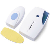 WIRELESS HOME PORTABLE 32 CHIME 100M RANGE Scope DIGITAL DOORBELL SENSITIVE