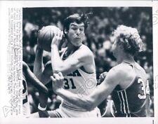 1971 UCLA Swen Nater vs Ohio State Luke White Press Photo