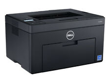 DELL C1660W WIRELESS 2-LINE 5 WAY KEY USB LED COMPACT COLOR LASER PRINTER -SPARE