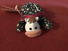 "Russ TEENY BEENIES COW 4"" Plush Stuffed Animal NEW"