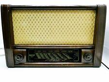 Sachsenwerk Olympia 532WU Vintage Tubi Radio con Erneuerten Condensatori K115