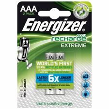 Pile rechargeable AAA Energizer LR03 HR03 800mAh lot de 2 piles 800 mAh