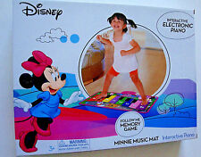 NEW DISNEY MINNIE MOUSE CLUBHOUSE INTERACTIVE ELECTRONIC FLOOR PIANO MUSIC MAT