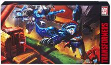 ! USA  SDCC Hasbro Transformers TITAN FORCE Wingblade Brainstorm Sentinel Prime