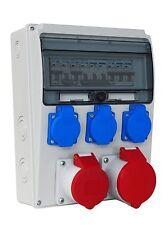 CEE Stromverteiler  | 400V  2x16A | Bausellenverteiler | SRW/MC/16165-3