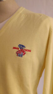 "Vtg 1982 Don ""The Snake"" Prudhomme Pepsi  Sponsor V-Neck Sweater Unworn NHRA LRG"