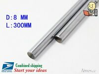 200-600 300 400 500 8mm Linear Motion Shaft Hardened Rod 3D Printer CNC Prusa i3