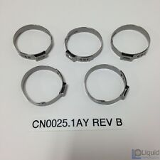 Erik Buell EBR Motorcycle 5-pack 1-EAR CLAMPS, 31.4-34.6 MM (CN0025.1AY Rev B)