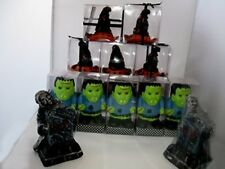 GTH108 Halloween/Goth Candles Spook & Grave, Witch Hat, Frankenstein -16 Candles
